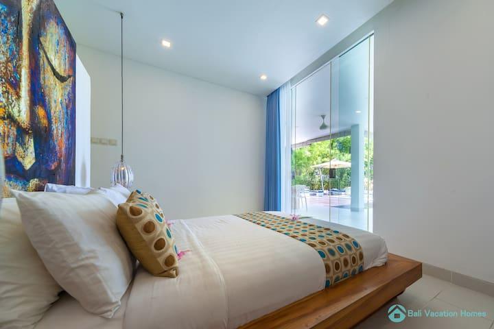 Villa Ibiza Bali bedrooms