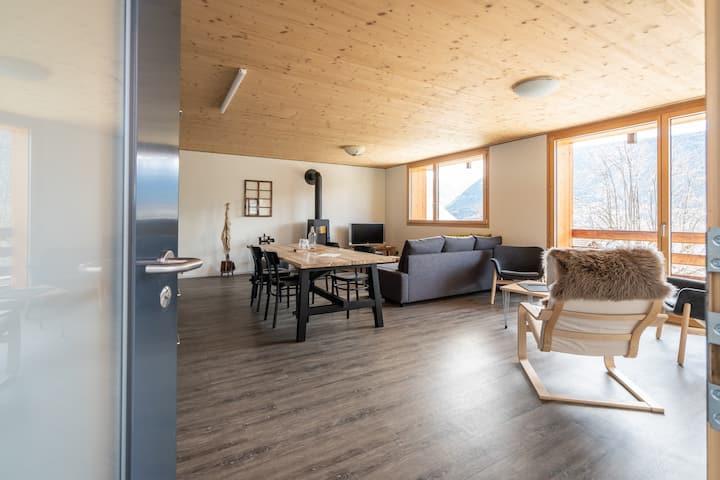 Moderne Wohnung in Ausserberg