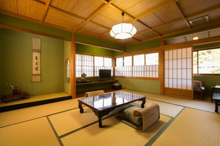Nara park Hill view flagship ryokan room
