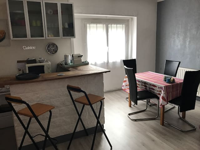 Welcome to our flat near Lyon,airport,trade fair. - Saint-Priest - Apartment