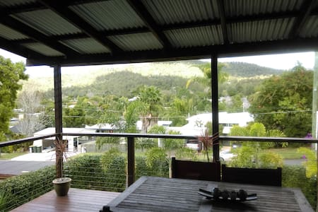 Spare double bedroom with views to Mt Cootha - The Gap