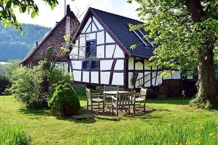 Loftwohnung mit Gartenblick historisches Landhaus