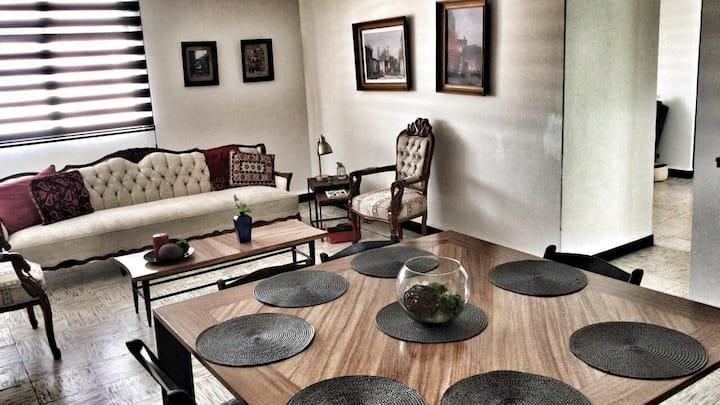 Amplio y cómodo departamento en Puebla Centro