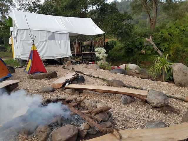 กระโจมเพียงดาว starlight tent - Fang District - Tent