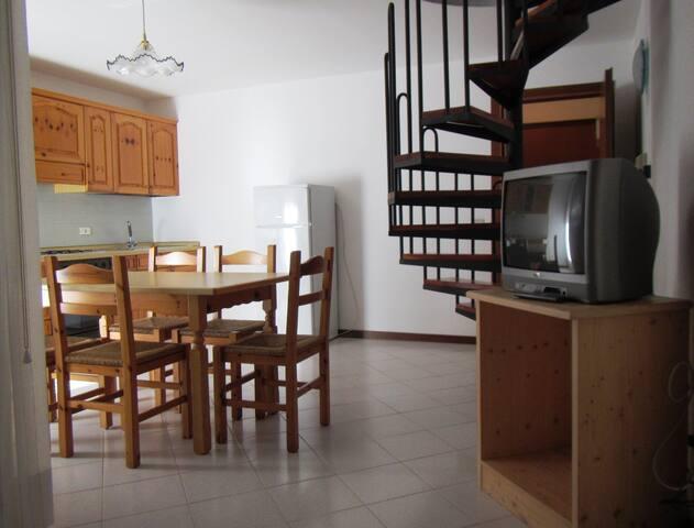 Attic apartment in Comano Terme