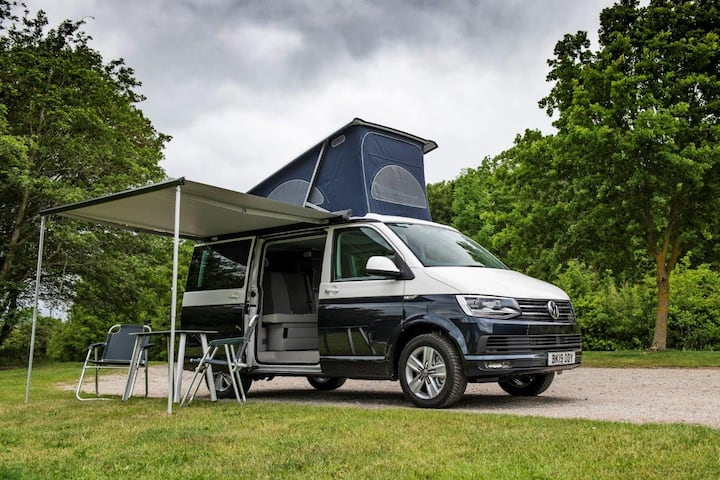 VW CALIFORNIA CAMPER RENTAL SUPER HIGH SPEC