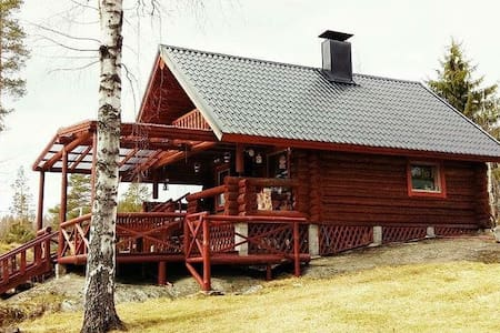 Beautiful log cottage in the middle of paradise - Heinola