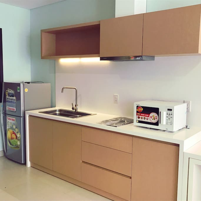 The kitchen all is new make you food become very quickly