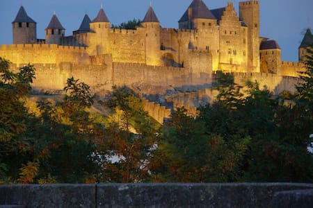 Studio Centre Ville avec sdb - Carcassonne