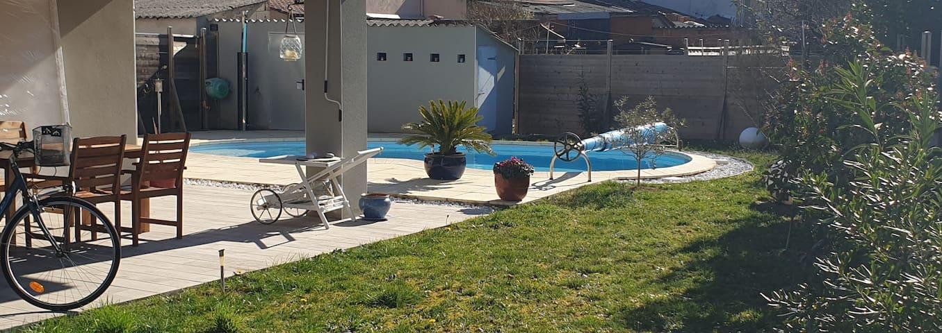 Maison avec jardin quartier calme
