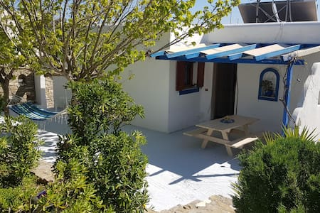 House150m from Logaras beach with  balcony seaview