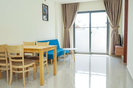 New Fully Furnished 2BR Apartment with Balcony