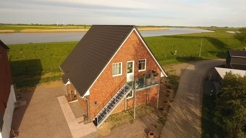 Ferienwohnung/App. für 4 Gäste mit 60m² in Oldenswort (122385)