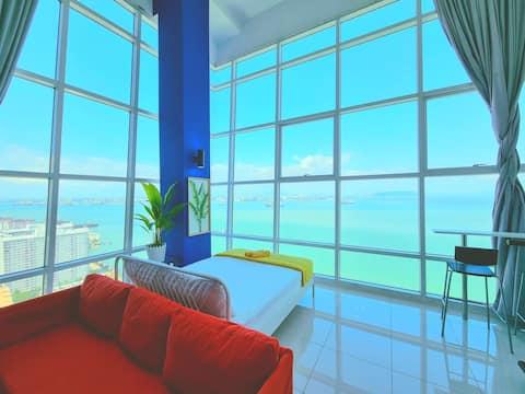 180° Sunrise Seaview Seaside Duplex 无敌日出全海景海边套房 21