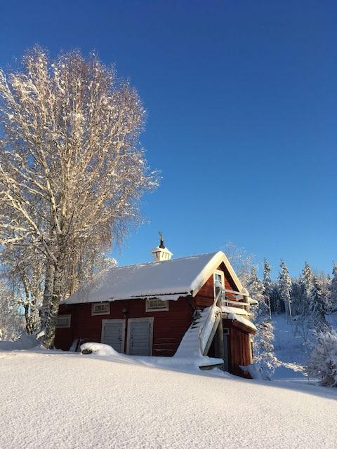 Lakeside cabin & sauna 1 hr  STHLM Skavsta 40 mins