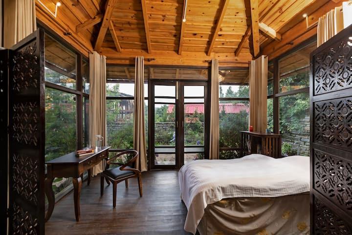 2.5 bedrooms at Mukteshwar; Cottage 2