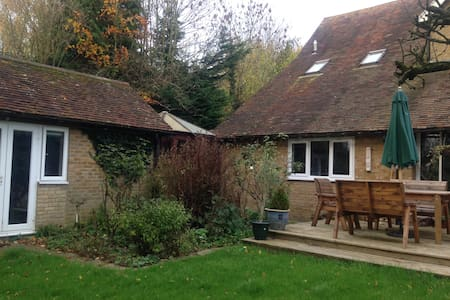 cosy self contained annexe in lovely countryside - Casa