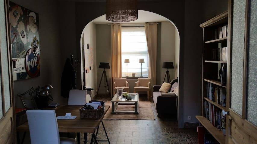 Maison de charme 110 m² terrasse et jardin arboré - Mouvaux