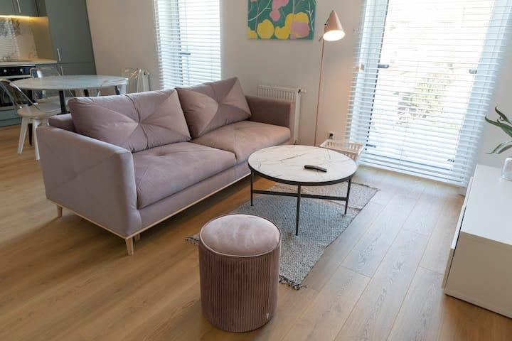 Apartament Różowy