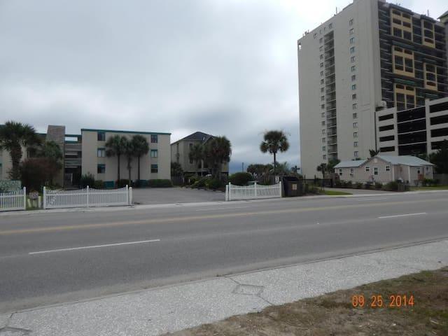 Street in front of Green Court Properties Ocean Blvd.