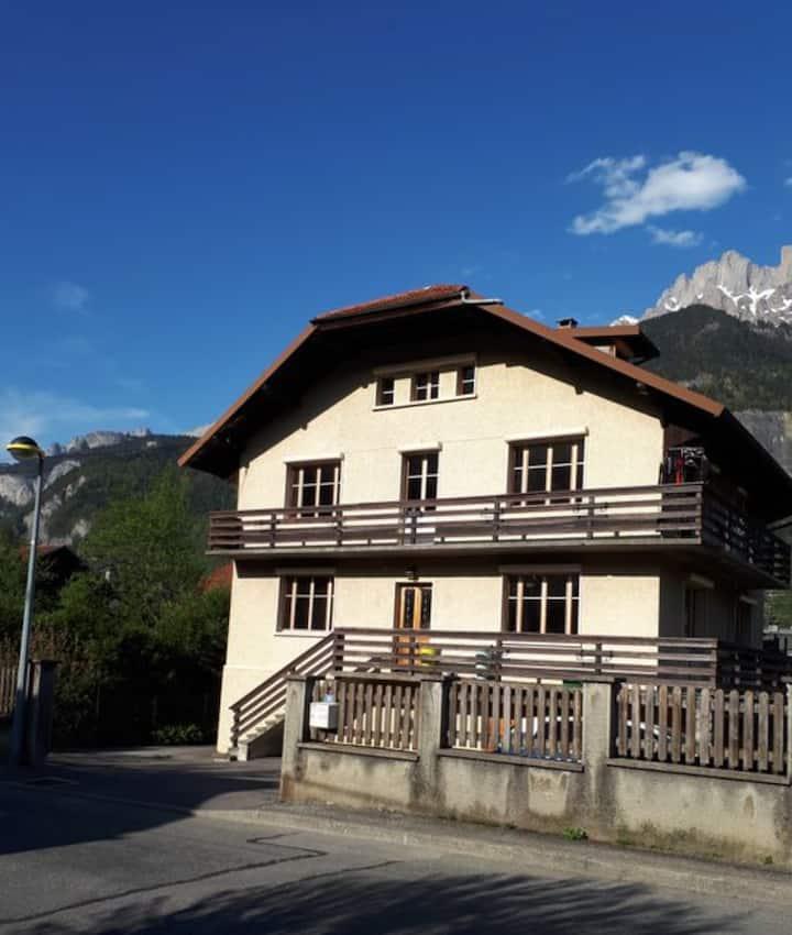 Chambre au Pays du Mont Blanc