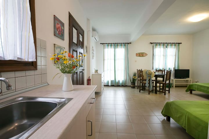 Cozy apartment with garden ideal for families