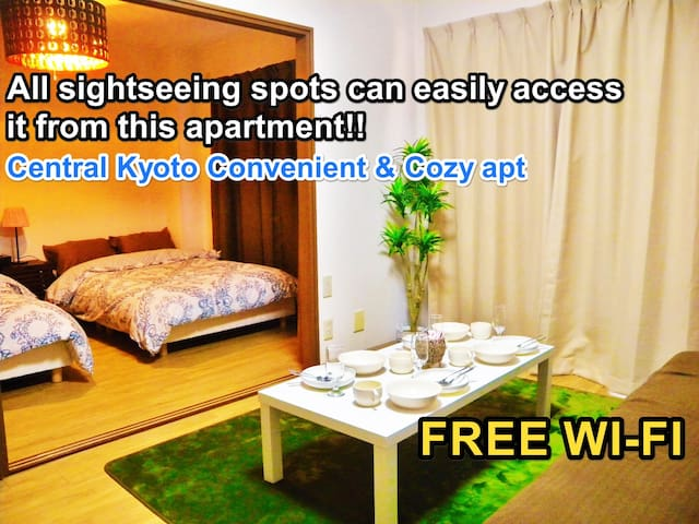 Central Kyoto Convenient & Cozy apt