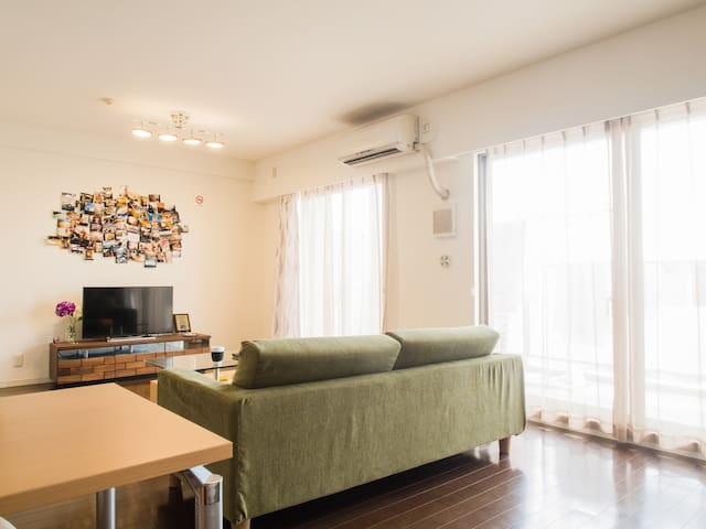 Wide and calm 2LDK 20mins to the center of Tokyo - 北区 - Apartament