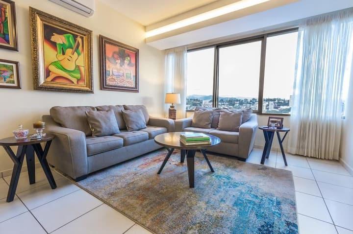 19C Best Luxury Apartment 2bedroom VIEWS, Equipped