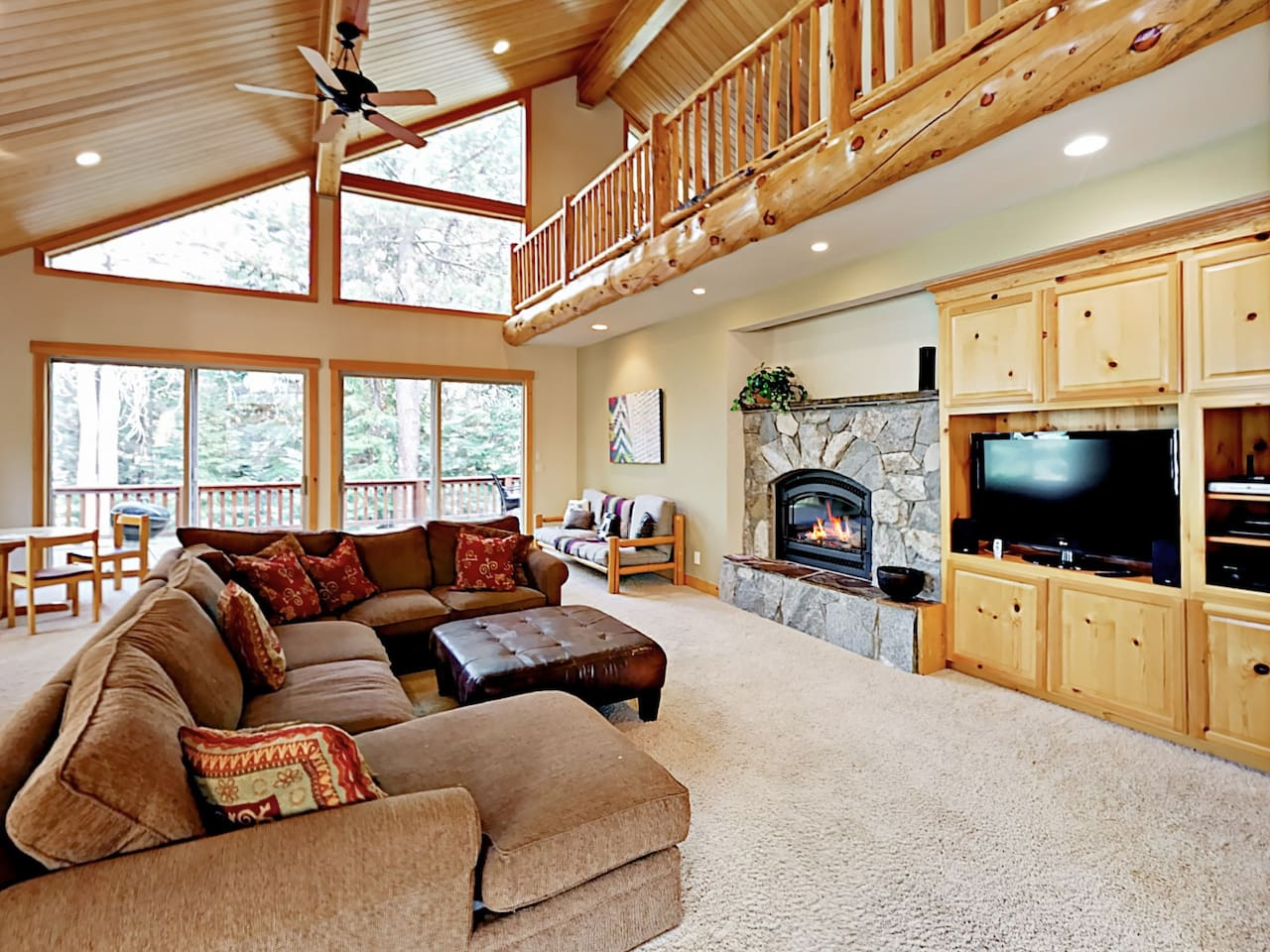 Welcome to Truckee! This spacious home is professionally managed by TurnKey Vacation Rentals.