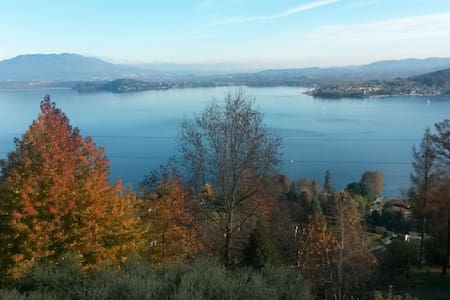 THE VIEW ON THE LAKE - Nebbiuno - Huoneisto