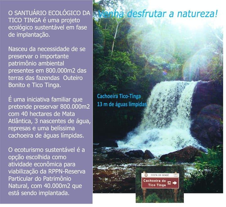 Fazenda Agroecologica cachoeira e Represa