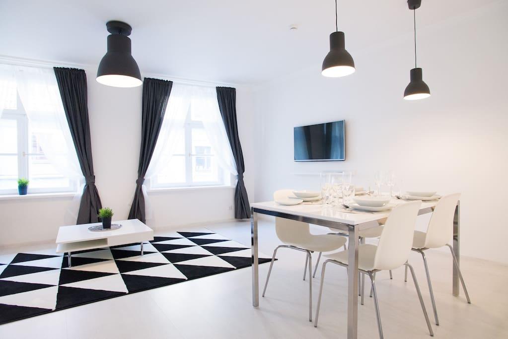 Superhost central ka u street modern apartment for Design apartment riga