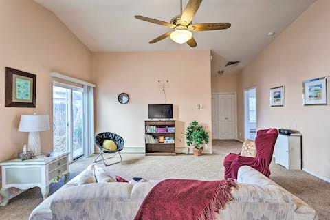 Spend time together in the spacious interior of this vacation rental!