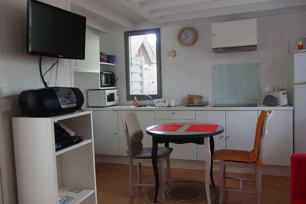 espace Cuisine Salon