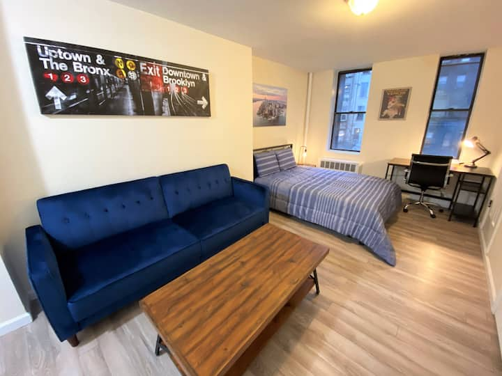Extra Large Studio in the East Village near NYU