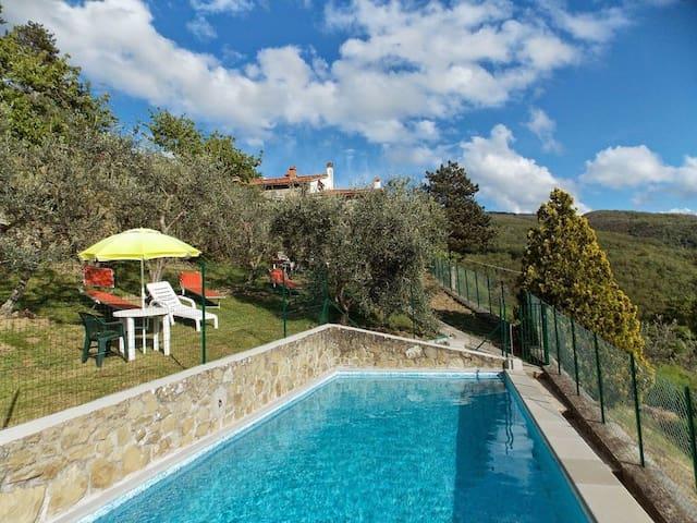 Panorama house & pool close to Florence - Londa - Casa