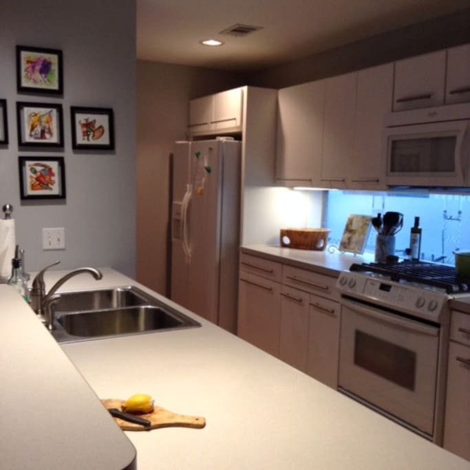 Kitchen with all essentials and more