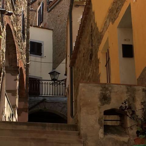 Bilocale centro storico - Scarlino