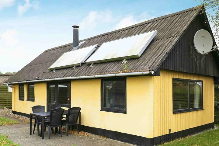 Maison de vacances de charme dans le Jutland avec jardin