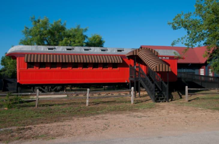 """Train Coach at The Antlers Inn """"McKinley Coach"""""""