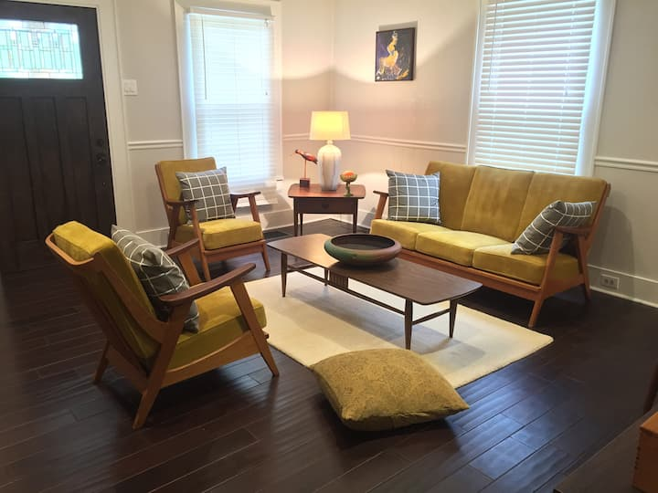 The Art House 2BR Peaceful Stylish 2miles→Downtown