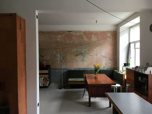 Studio apartment in a historic building