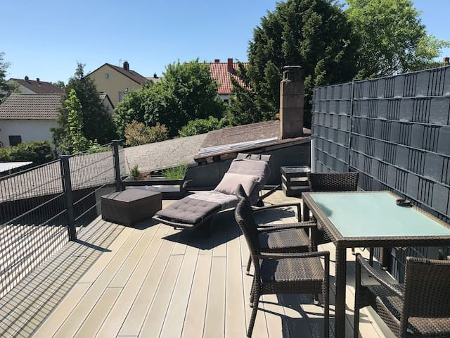 Exklusives Apartment mit Terrasse in Reilingen