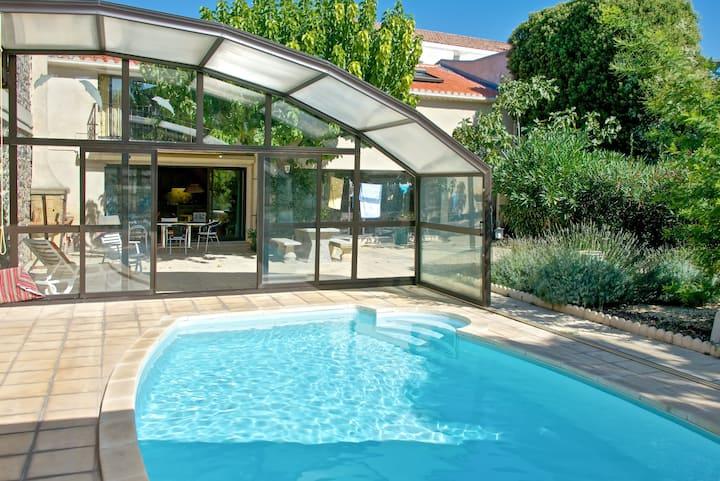 Wohnung mit Zugang zum Pool