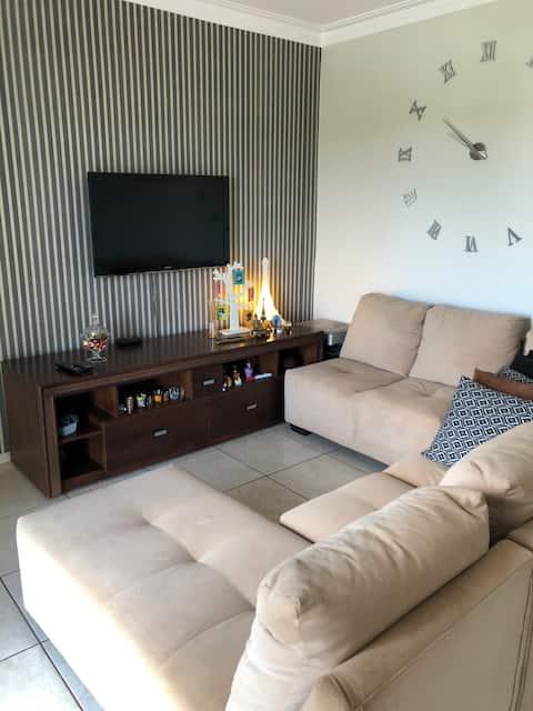 Apartamento mobiliado exclusivo na área central