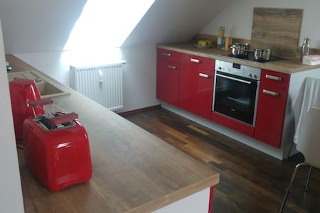Moderne helle Wohnung im grünen - Apartamento