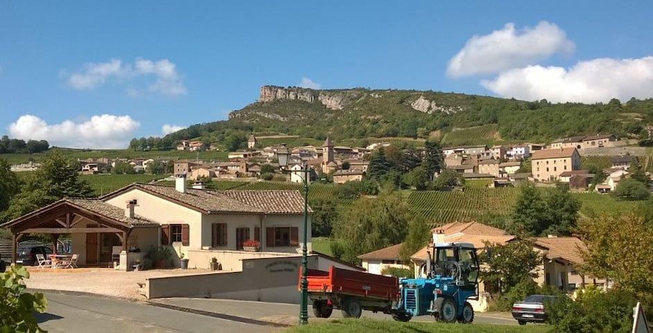Maison de vigneron à Solutré - Solutré-Pouilly - Ev