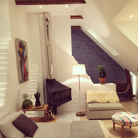 Exclusive attic in the middle of SOFO, Södermalm