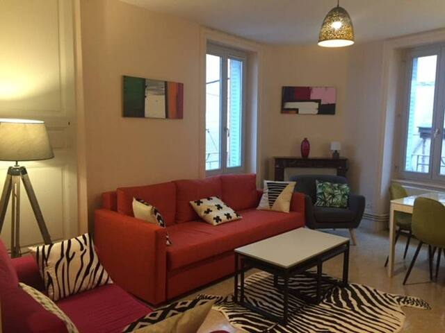 Appartement tout confort en hypercentre de Thiers